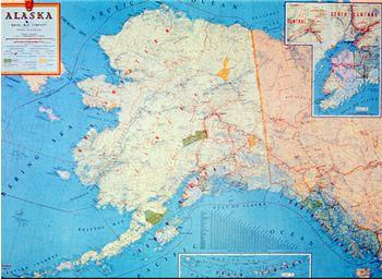 History And Culture Alaska Kids Corner State Of Alaska - Geography map for kids
